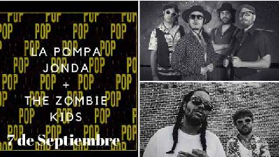 Concierto: La Pompa Jonda y Zombie Kids en Pop CAAC Sevilla 2018