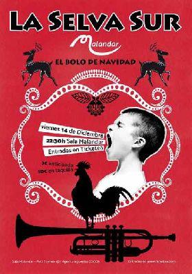 Concierto: La Selva Sur en Malandar Sevilla 2018