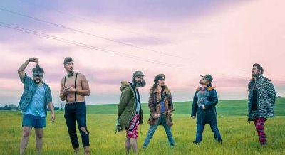 Foto promocional del grupo La Selva Sur