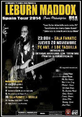 Concierto: Leburn Maddox Band en Fanatic Sevilla