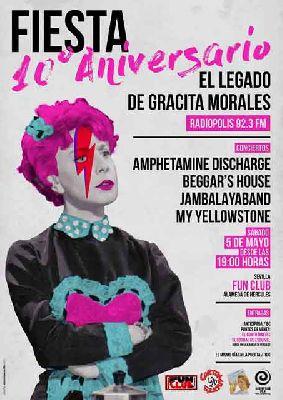 Concierto: 10 años de El legado de Gracita Morales en FunClub Sevilla
