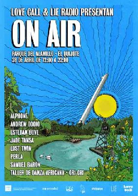 Fiesta On Air en el parque del Alamillo de Sevilla 2018