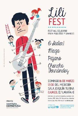 Concierto: festival solidario Lili Fest en Sevilla