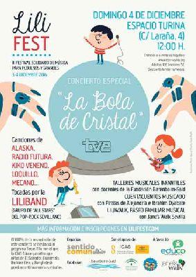 Festival solidario Lili Fest 2016 en Sevilla