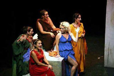 Teatro: Lisístrata. Una comedia musical Noches de la Buhaira 2013