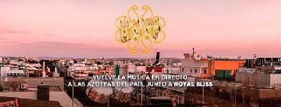 Cartel del ciclo Live the Roof en Sevilla 2021