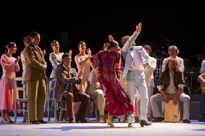 Flamenco: Llanto por Ignacio Sánchez Mejías en el Teatro Central