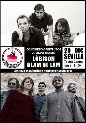Concierto: Lõbison y Blam de Lam en el Teatro Central Sevilla