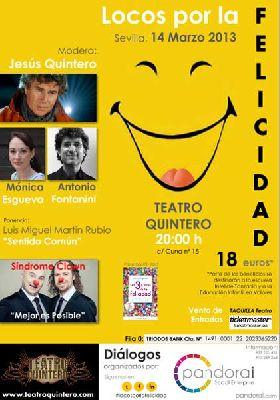 Locos por la felicidad en el Teatro Quintero Sevilla