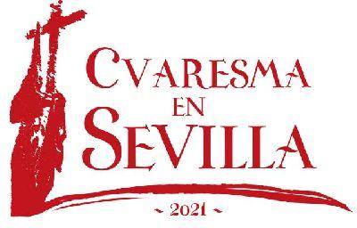 Logotipo del ciclo Cuaresma en Sevilla 2021