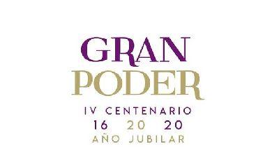 Logotipo del Gran Poder IV Centenario - Año Jubilar