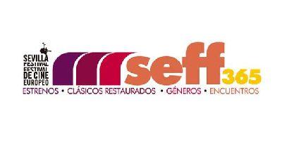 Logo del ciclo seff365 del Festival de Cine Europeo de Sevilla