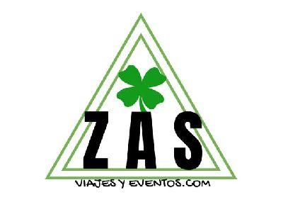 Logotipo de Z A S viajes y eventos