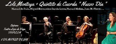 Flamenco: Lole Montoya en el Teatro Lope de Vega de Sevilla 2018