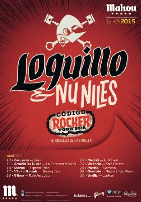 Concierto: Loquillo y Nu Niles en Sevilla 2015 (Sala Custom)