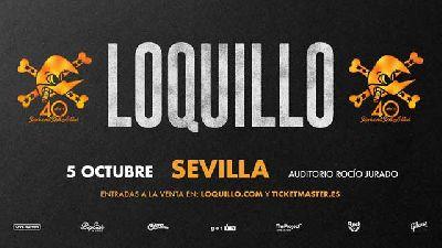 Concierto: Loquillo en el Auditorio Rocío Jurado de Sevilla 2018
