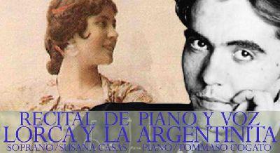 Concierto: Lorca y La Argentinita en la Casa de los Pinelo de Sevilla