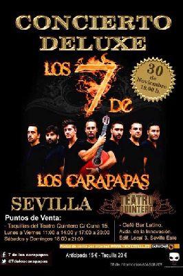 Concierto: los 7 de los Carapapas en el Teatro Quintero de Sevilla