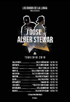 Concierto: J Dose y Alber Stewar en FunClub Sevilla 2018