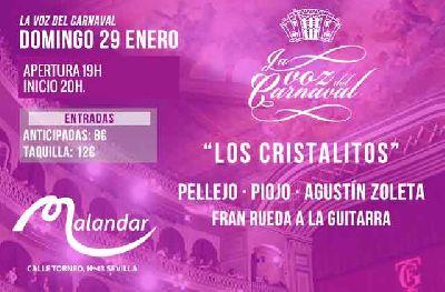 Concierto: Los Cristalitos (Carnaval) en Malandar Sevilla 2017