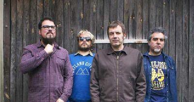 Foto promocional de la banda Los Deltonos
