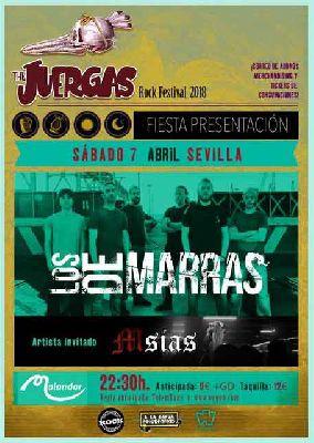 Concierto: Los de Marras en Malandar Sevilla (abril 2018)