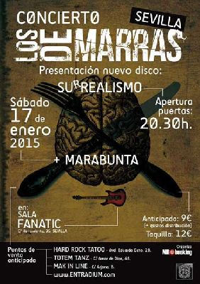 Concierto: Los de Marras en Fanatic Sevilla