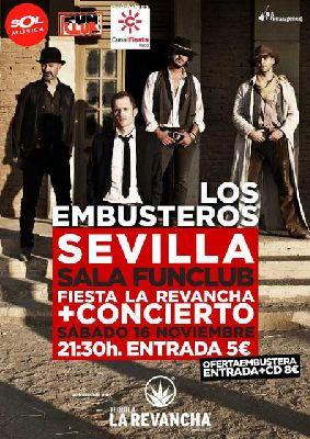 Concierto: Los Embusteros en FunClub Sevilla