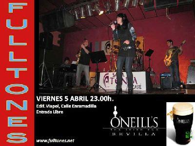 Concierto: Los Fulltones en O'Neill's Sevilla