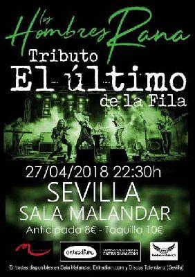 Concierto: Los Hombres Rana en Malandar Sevilla (abril 2018)