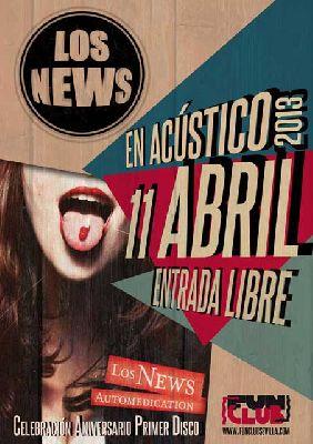 Concierto: Los News en FunClub Sevilla