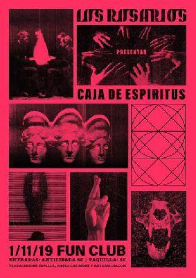 Cartel del concierto de Los Rosarios en FunClub Sevilla 2019