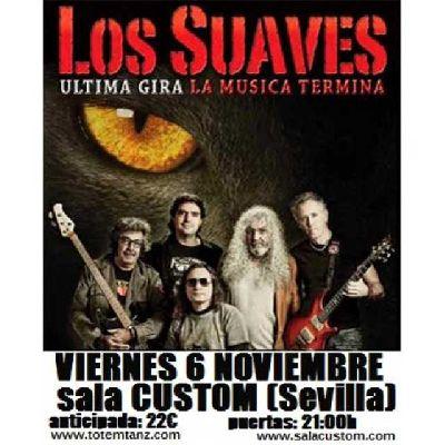 Concierto: Los Suaves en Custom Sevilla 2015