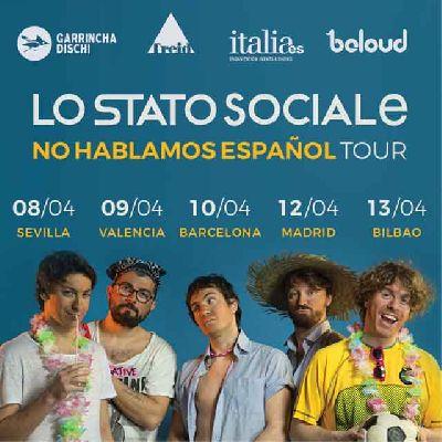 Concierto: Lo Stato Sociale en Malandar Sevilla (abril 2018)