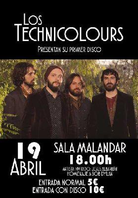 Concierto: Los Technicolours en Malandar Sevilla (abril 2015)
