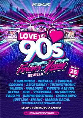 Concierto: Love the 90's en Sevilla 2018