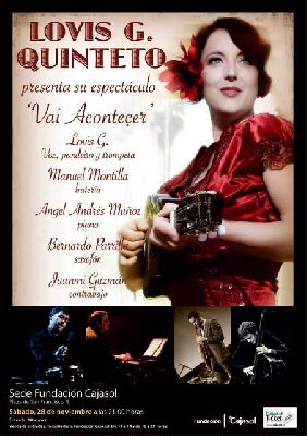 Concierto: Vai Aconteçer de Lovis G. Quinteto en Cajasol Sevilla