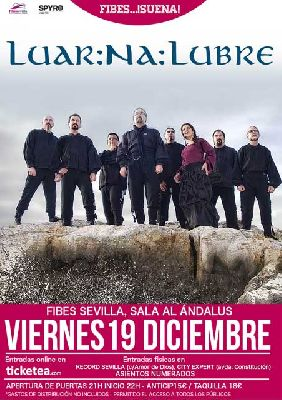 Concierto: Luar Na Lubre en el ciclo Fibes Suena de Sevilla