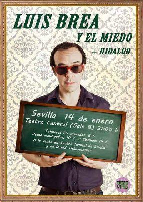 Concierto: Luis Brea en el Teatro Central de Sevilla