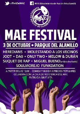 Concierto: MAE Festival 2015 en el parque del Alamillo de Sevilla