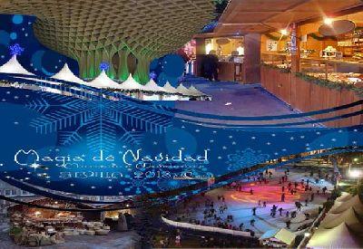 Mercados de Navidad con pistas de hielo y actividades en Sevilla