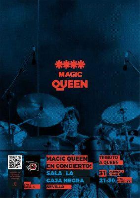 Concierto: Magic Queen Tribute en La Caja Negra de Sevilla