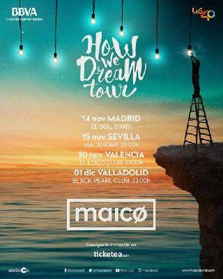 Concierto: Maico en Malandar Sevilla 2017