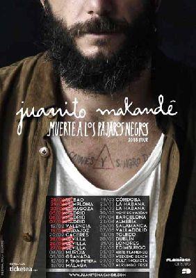 Conciertos: Juanito Makandé en Custom Sevilla 2016