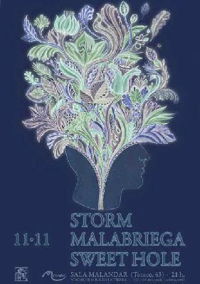 Concierto: Malabriega, Sweet Hole y Storm en Malandar Sevilla 2017