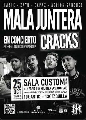 Concierto: Mala Juntera en Custom Sevilla