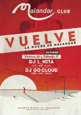 Vuelven las Noches de Club a Malandar Sevilla 2015