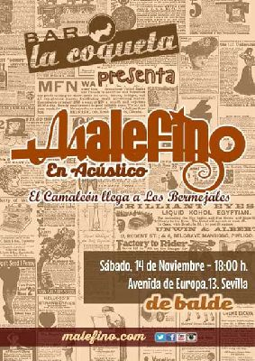 Concierto: Malefino en La Coqueta Sevilla
