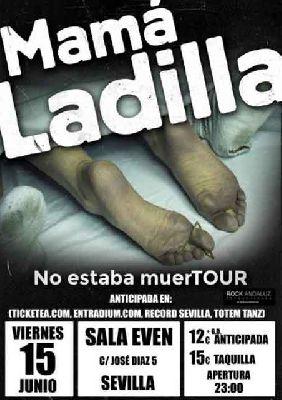 Concierto: Mamá Ladilla en la Sala Even Sevilla 2018