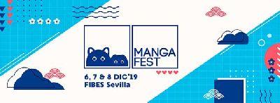 Cartel del festival Mangafest 2019 en Sevilla